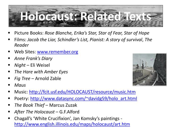 Holocaust: Related Texts