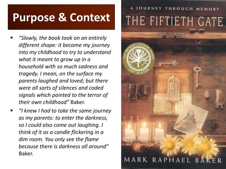 Purpose & Context