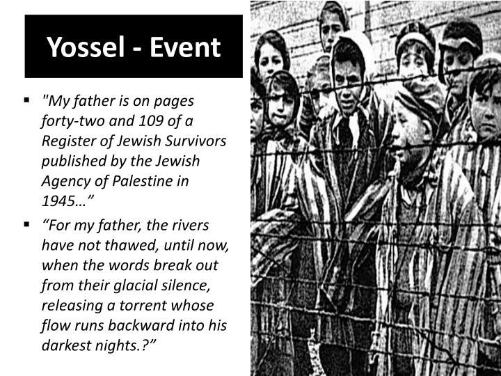 Yossel - Event