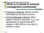 what is involved in contract management continued1