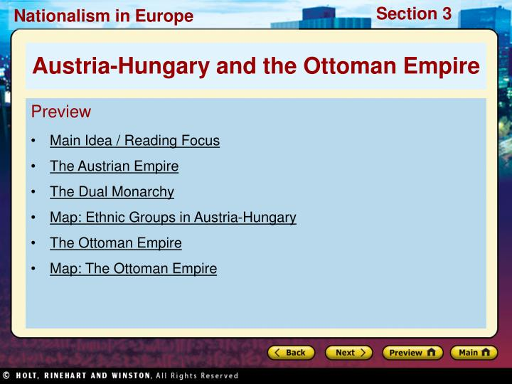 an analysis of the reasons for the decline of austrian empire Nationalism appeared in the austrian empire as a counteraction to the reactionary force of the emperor the members of the different nations that formed the empire believed that self-governing was the best choice and this led to the revolutions in 1848, which remained in history as the year of.