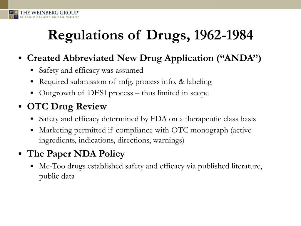 PPT - Center for Professional Advancement Generic Drug