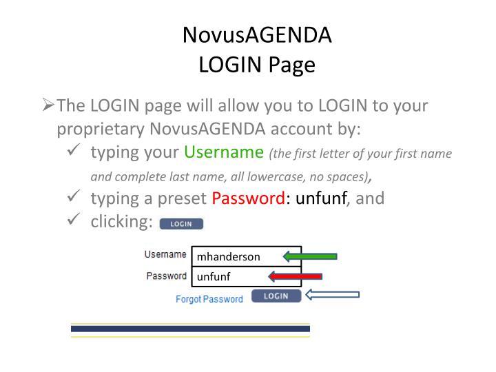 NovusAGENDA