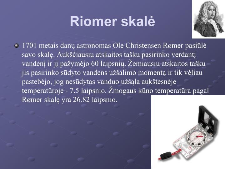 Riomer skalė