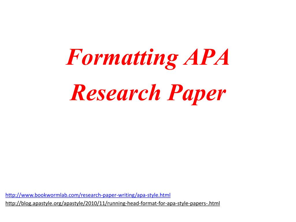 ppt formatting apa research paper powerpoint presentation id 2951887
