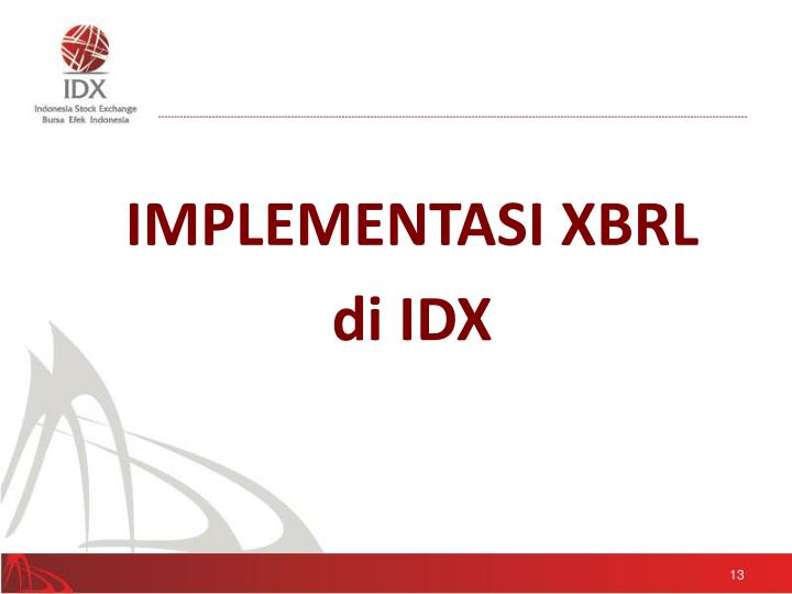 IMPLEMENTASI XBRL