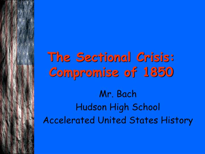 sectionalism in the united states essay Slave states the missouri controversy really showcased the political differences of the north and the south and gave a clear picture that sectionalism was occurring what once started as a people fighting for the same cause turned into a nation.