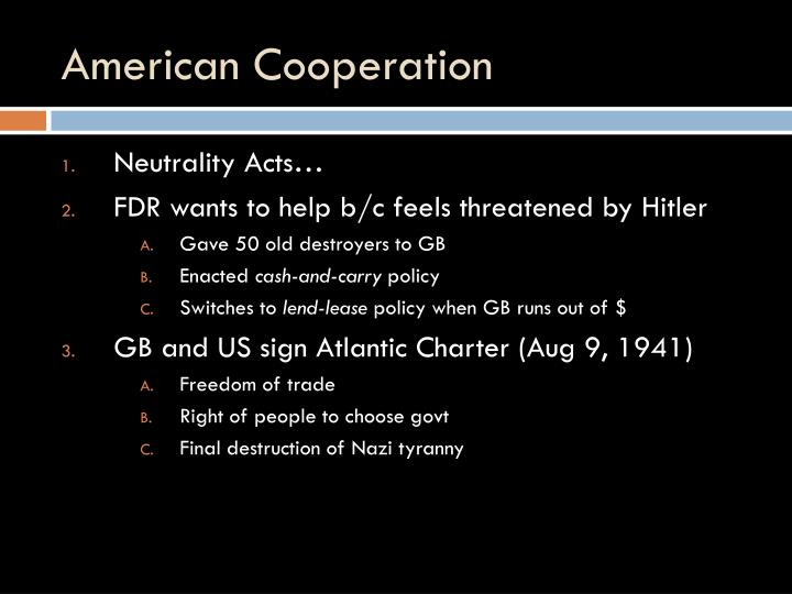 American Cooperation