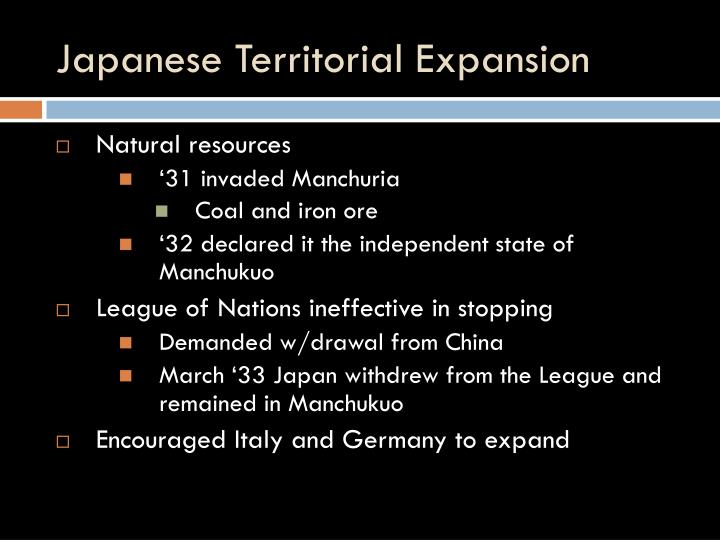 Japanese territorial expansion