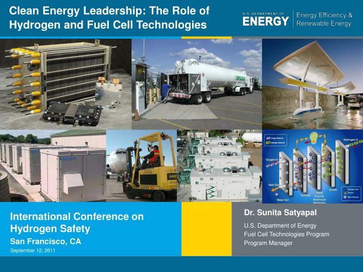 clean energy leadership the role of hydrogen and fuel cell technologies n.