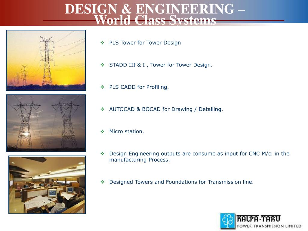 PPT - KALPATARU POWER TRANSMISSION LIMITED PowerPoint Presentation
