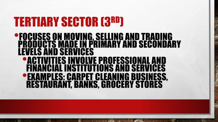 Ppt Sectors Of The Economy Powerpoint Presentation Id