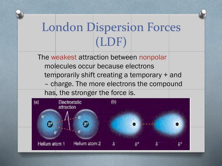 London Dispersion Forces (LDF)