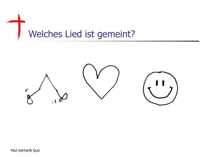 Paul Gerhardt Quiz