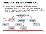 sintassi di un documento xml2