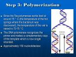 step 3 polymerization