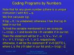 coding programs by numbers4