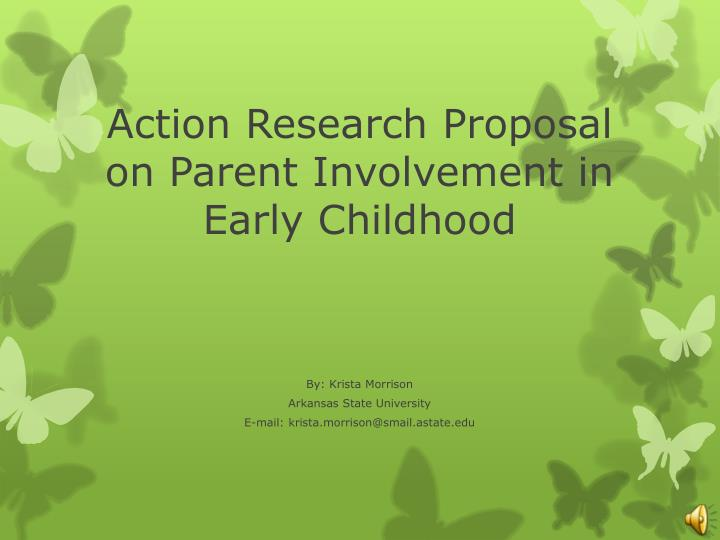 parent involvement research thesis The perceived effectiveness of parental involvement in children's education at the red cedar vocational and special education center (red cedar hall), a school of students ages 3-21 years who are severely cognitively disabled, in the school.