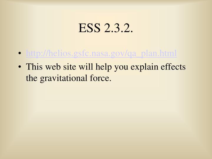 ESS 2.3.2.