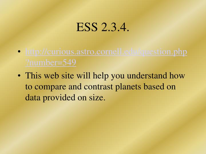 ESS 2.3.4.