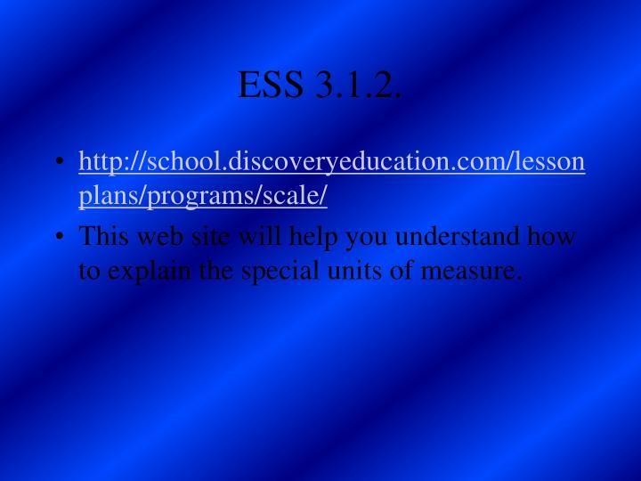 ESS 3.1.2.