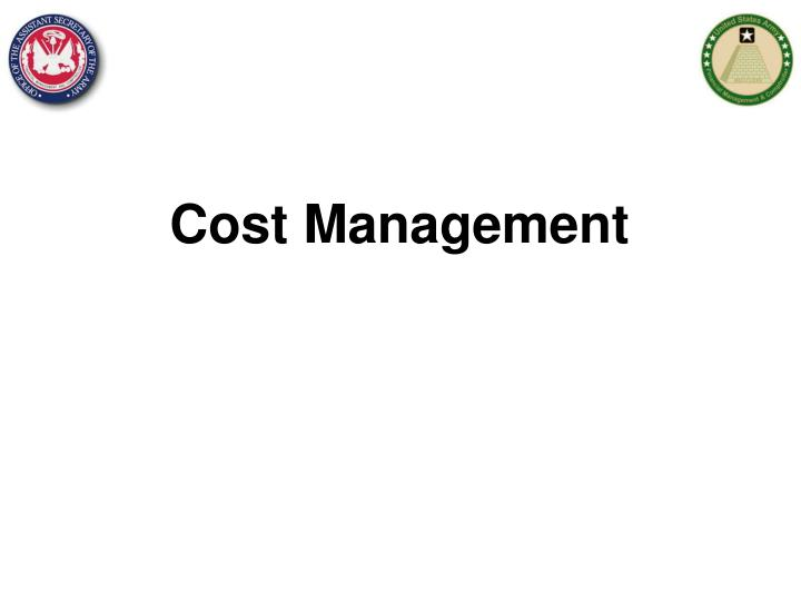 cost management n.