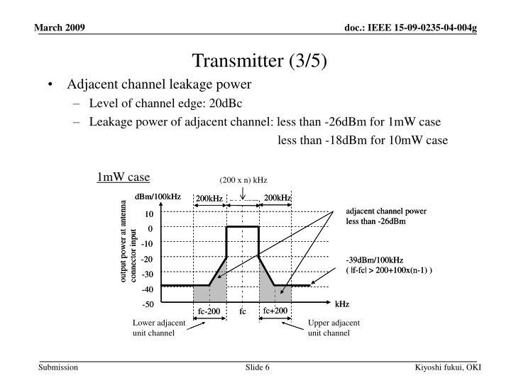 Transmitter (3/5)