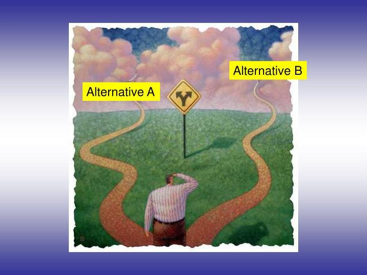Alternative B