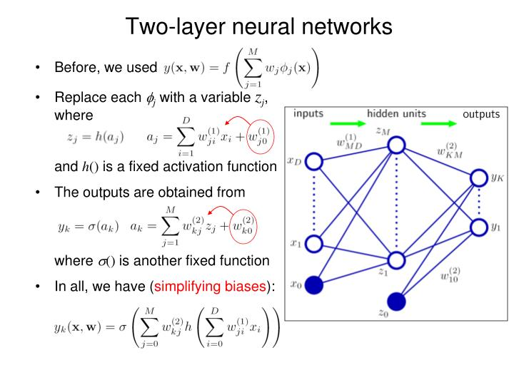 Two-layer neural networks