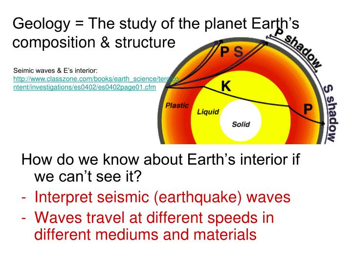 PPT Earths Structure and Composition PowerPoint Presentation ID