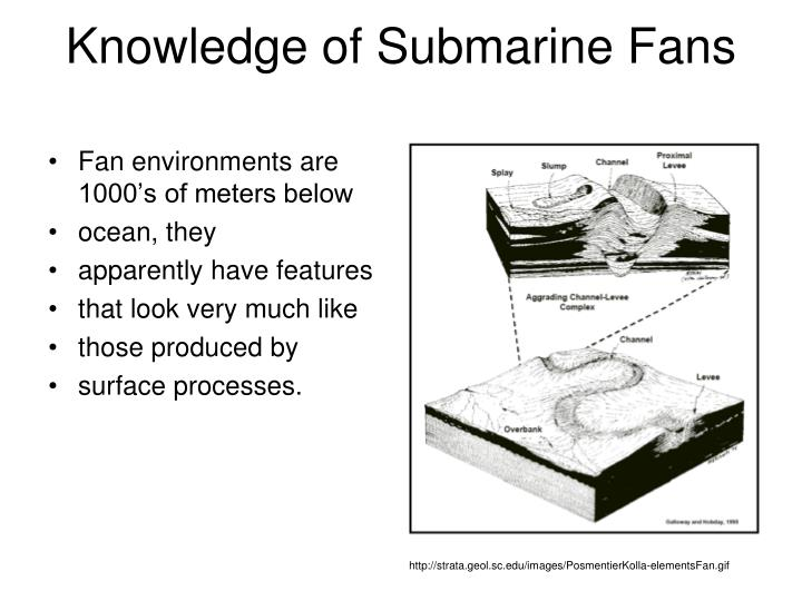 Knowledge of Submarine Fans