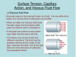 surface tension capillary action and viscous fluid flow3