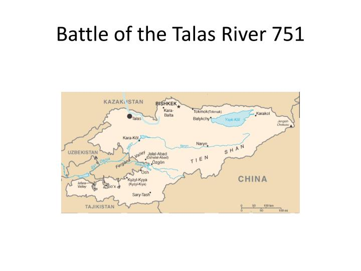 Battle of the Talas River 751