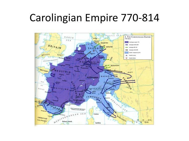 Carolingian Empire 770-814