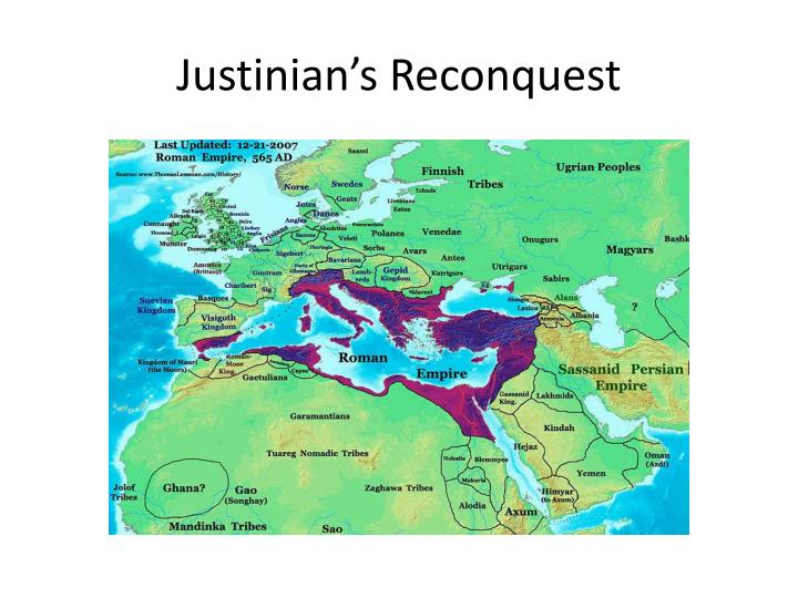 Justinian's Reconquest
