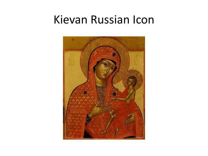Kievan Russian Icon