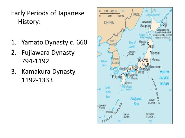 Early Periods of Japanese History: