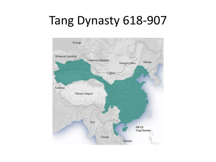 Tang Dynasty 618-907