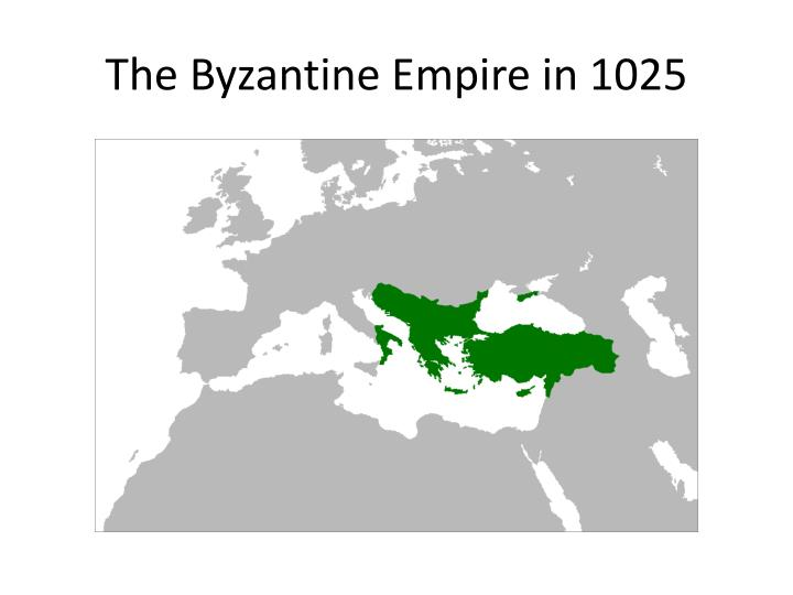 The Byzantine Empire in 1025