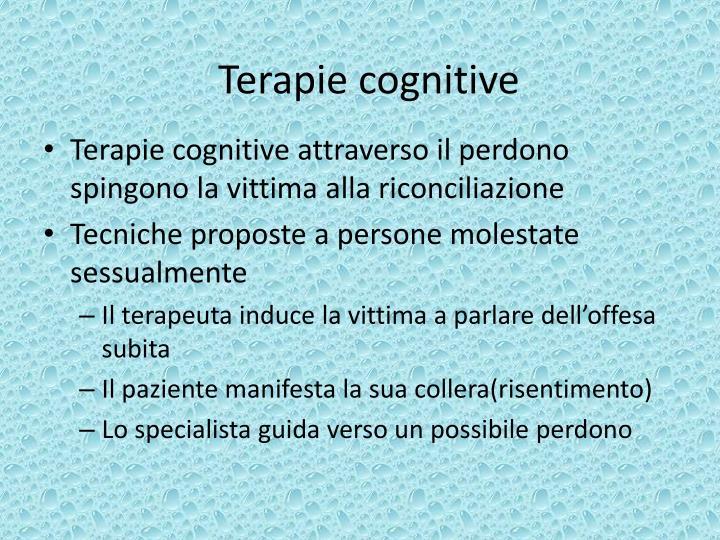 Terapie cognitive