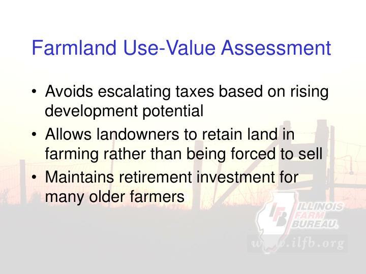 Farmland Use-Value Assessment