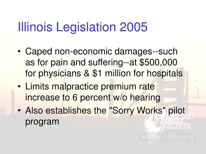 Illinois Legislation 2005
