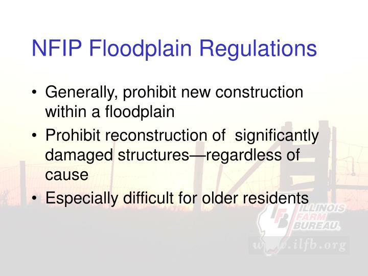 NFIP Floodplain Regulations