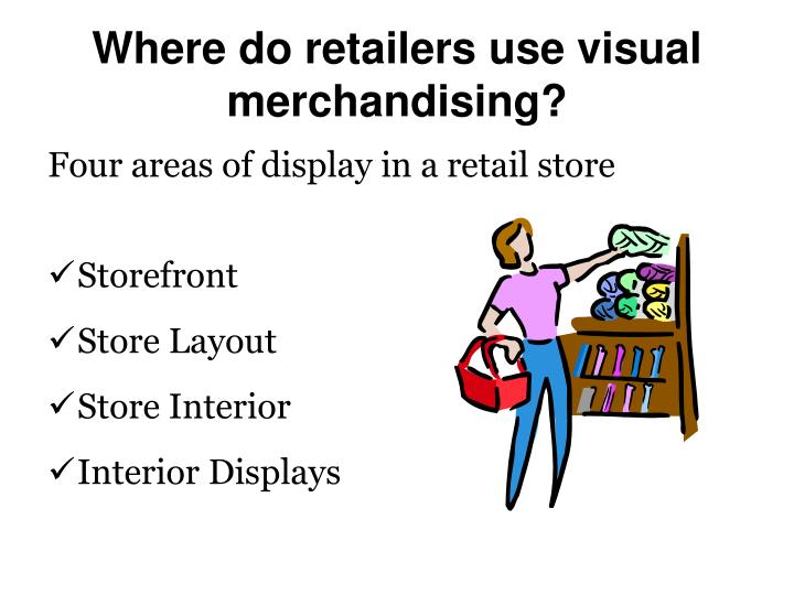 marketing visual merchandising essay Keep working on designing eye-catching and innovative ways to make your retail store profitable through visual merchandising the bottom line - a display is the cheapest employee on the planet the bottom line - a display is the cheapest employee on the planet.