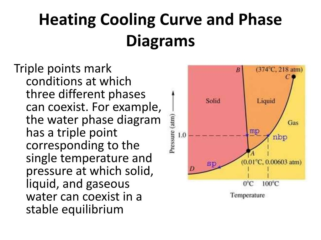 Ppt - Heating  Cooling Curve And Phase Diagrams Powerpoint Presentation