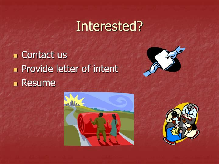 Interested?