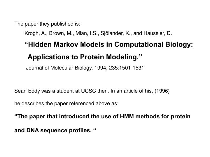 The paper they published is: