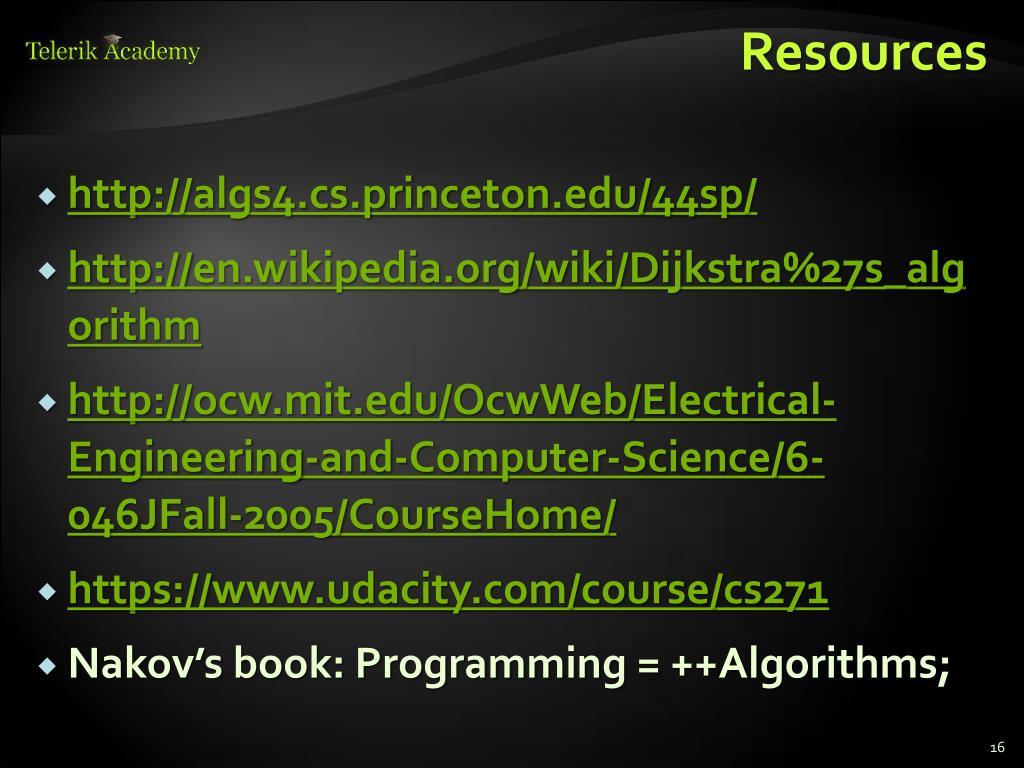 PPT - Dijkstra's algorithm PowerPoint Presentation - ID:2956769