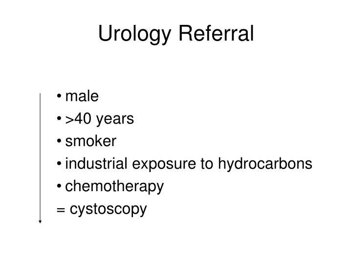 Urology Referral