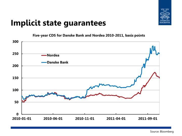 Implicit state guarantees